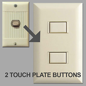 5002 Touch Plate Options