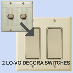 Decora Options for Sierra Lighting