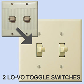 Toggle Replacements for Sierra Low Voltage