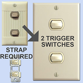 New Momentary Trigger Switches
