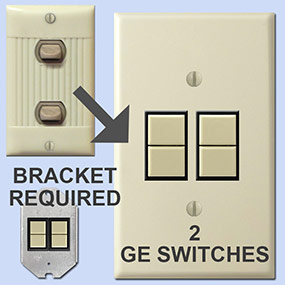 Replace 2 Sierra with GE Low Voltage