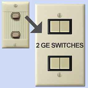 Putting GE Switches in Sierra System
