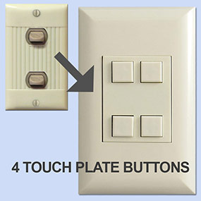 4-Button Touch Plate Classic