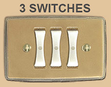 Replacing 3 Remcon Switches with Touch Plate