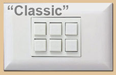 Touch Plate with 6 Buttons Classic
