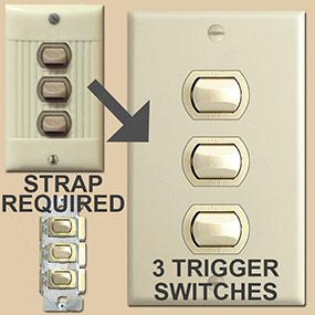 3 Despard Sierra Switches