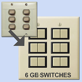 New Sierra Lighting Switch Options