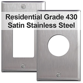 430 Satin Stainless Steel