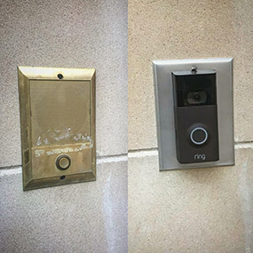 Ring Doorbell Replace Old Intercom Speaker