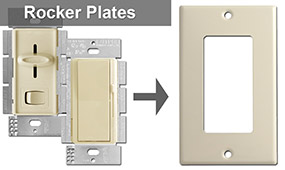 Slide Dimmer Switch Plates
