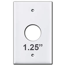 Round Hole Plate 1.25 Inches
