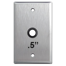 Cover Plate with Half Inch Round Opening