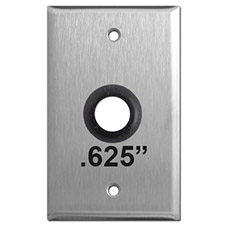 Metal Plate with 5/8 Inch Hole