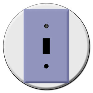 Round Switch Plate