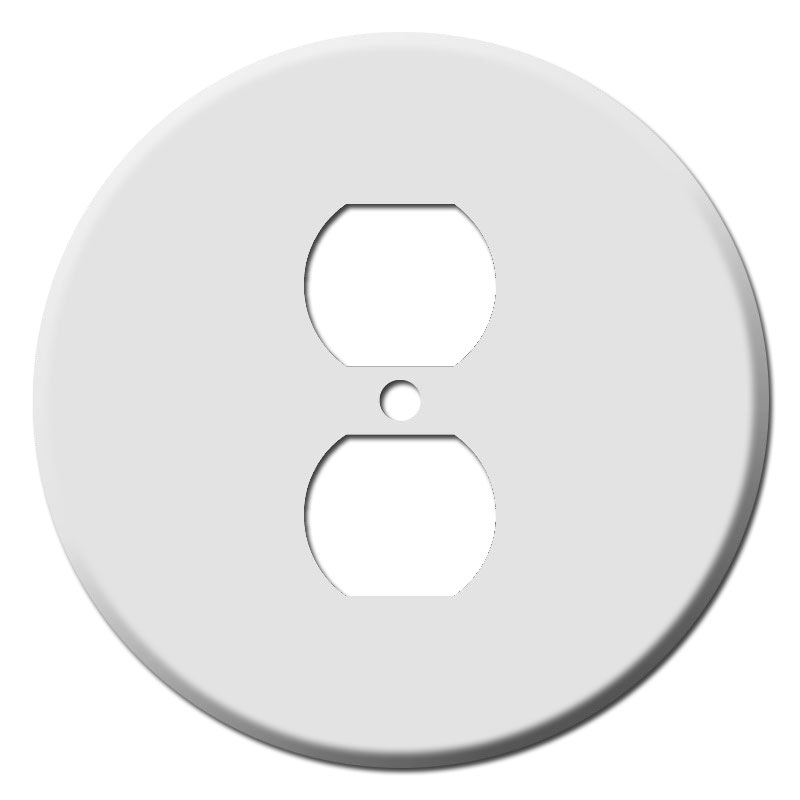Buy circular outlet covers for round or duplex outlets