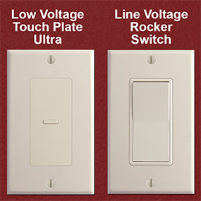 Line Voltage Adapter Fix for Touch Plate Lighting