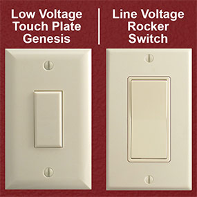 Line Voltage Touch Plate Solutions
