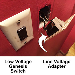 Line Voltage Touch Plate Switch Update