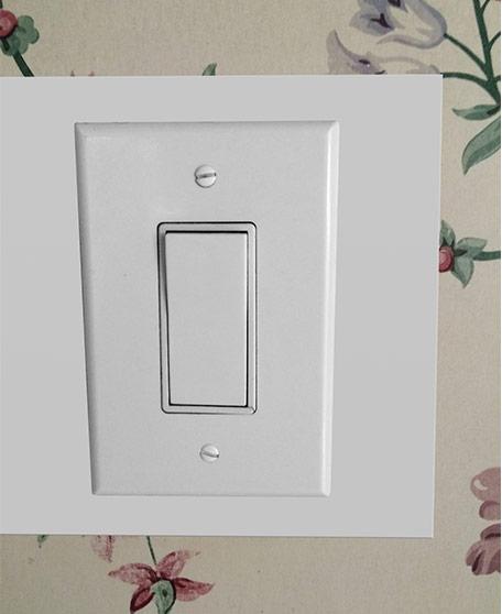 Fix Damaged Wall Around a Light Switch