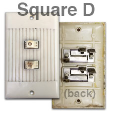 24V Square D Switches