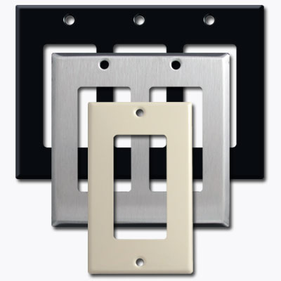 Find light switch cover sizes and dimensions