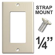 Shorter Strap Mount Wall Plate Screws