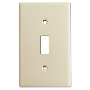 Standard toggle switch plates
