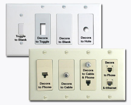 Custom Switch Plates In Any Size Design Your Own With Inserts