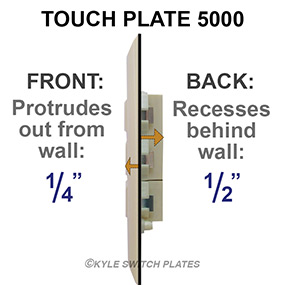 info touch plate 5000 depth?t=1479842374 touch plate lighting help guides, wiring diagrams, low volt system faq Old Touch Plate Lighting at bayanpartner.co