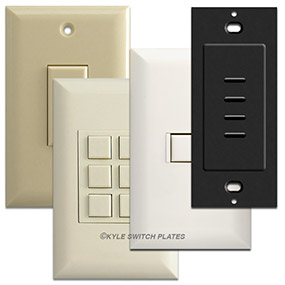Available Finishes for Low Voltage Switches