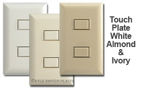 Touch Plate Finishes