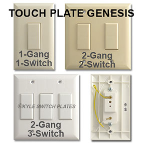 Touch Plate Genesis Information