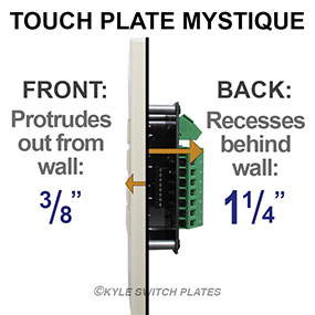 Mystique Switch Dimensions