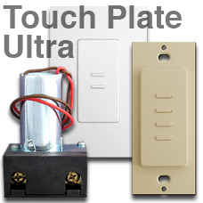 Info Touch Plate Ultra Low Voltage Samples on Remcon Low Voltage Switches