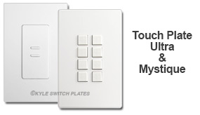 White Touch Plate Devices