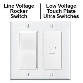 Update Line & Low Voltage Genesis Switches