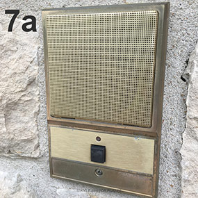 Example of Doorbell Intercom on Home Exterior