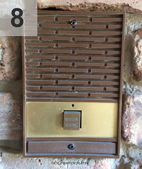Vintage Door Chime Cover