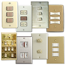 Vintage Light Switches - Many Manufacturers