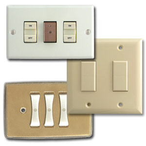 New GE low voltage replacement switches