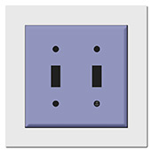Wall Plate Expander for 2 Gang Plate