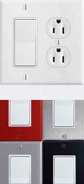 White Devices & Cover Plates