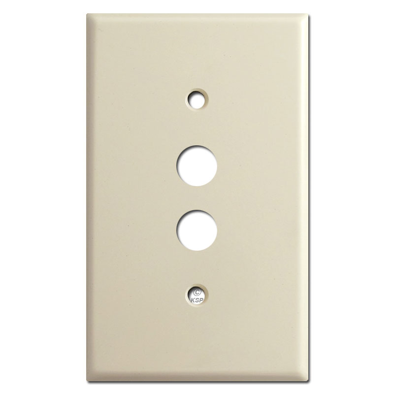 Buy push button switchplate covers 1 - 6 gangs