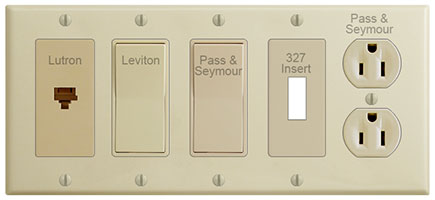 Ivory Switch Plate Ivory Outlet Covers Rocker Light Switch Plates