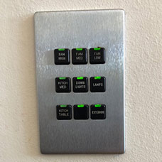 Lite Touch Savant Black Light Switches