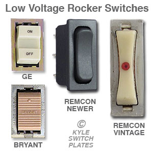 Low Voltage Lighting - Rocker Switches