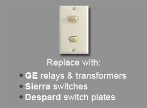 Parts for Sierra Low Voltage Lighting