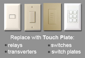 old low voltage lighting system switches relays wall switch plates