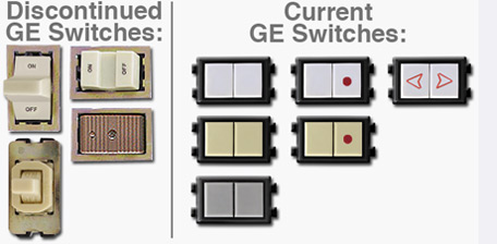 New Replacement vs Old Discontinued GE Switches