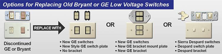 Ge Low Voltage Light Switches  Low Voltage Light Switch